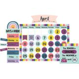 Oh Happy Day Calendar Bulletin Board Set