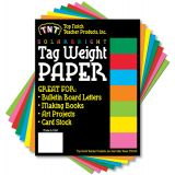 SolarBright Paper,  8 1⁄2 x 11, Assorted 8 Colors