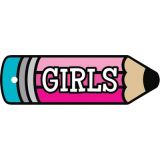Pencil Girls Pass (Plastic)