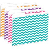 Designer File Folders, Chevron