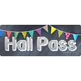 Chalkboard Pass, Hall Pass