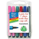 Magic Stix™ Tri Markers, 12 colors
