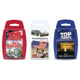 Top Trumps® 3-Game Bundle, Red, White, & Blue