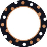 I ♥ Metal Dot Circles Classic Accents® Variety Pack