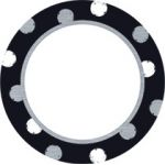 I ♥ Metal Dot Circles Mini Accents Variety Pack