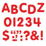 STICK-EZE® Stick-On Letters, 1 Red