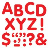 STICK-EZE® Stick-On Letters, 2 Red