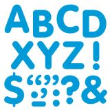 STICK-EZE® Stick-On Letters, 2 Blue