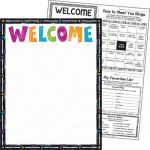 Color Harmony™ Welcome Learning Chart
