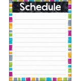 Color Harmony™ Schedule Learning Chart