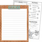 I ♥ Metal™ Rules Learning Chart