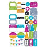 Color Harmony Just Plan It superShapes Stickers, Large