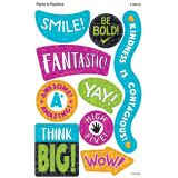 Color Harmony Paint It Positive superShapes Stickers, Large