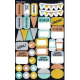 I ♥ Metal Plan Ahead superShapes Stickers, Large