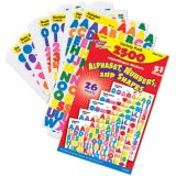 superSpots® & SuperShapes Variety Pack, Alphabet, Numbers & Shapes