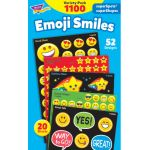 Emoji Smiles Stickers Variety Pack