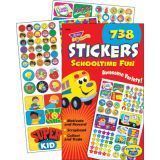 Schooltime Fun Sticker Variety Pad