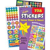 Super Stars & Smiles Sticker Variety Pad