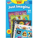 Just Imagine Sparkle Stickers® Variety Pack