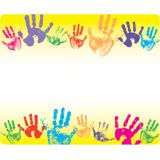 Rainbow Handprints Terrific Labels™