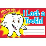 I Lost a Tooth! Hooray! Recognition Awards