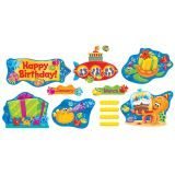 Sea Buddies™ Birthday Bulletin Board Set