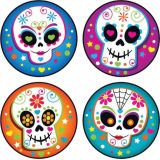 Stinky Stickers® Colorful Skulls (Vanilla)