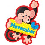 Monkey Mischief® Birthday Bulletin Board Set