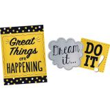 I ♥ Metal Phrases Bulletin Board Set