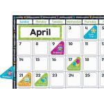 Color Harmony Calendar Bulletin Board Set