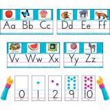 Color Harmony™ Photo Alphabet Bulletin Board Set