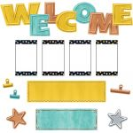 I ♥ Metal Wipe-Off® Welcome Mini Bulletin Board Set