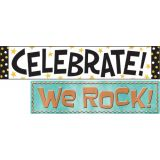 I ♥ Metal Wipe-Off® Celebration Signs Mini Bulletin Board Set