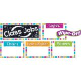 Color Harmony Wipe-Off® Class Jobs Mini Bulletin Board Set