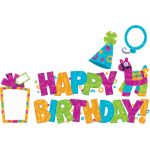 Color Harmony™ Wipe-Off® Birthday Mini Bulletin Board Set