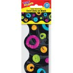 Color Harmony™ Swirl Dots on Black Terrific Trimmers®