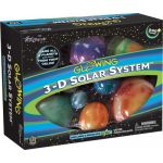 Glowing 3-D Solar System®