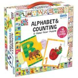 The World of Eric Carle™ Alphabet & Counting 2-Sided Floor Puzzle
