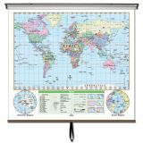 World Essential Wall Map
