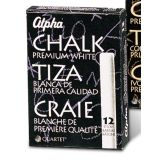 Alpha White Dustless Chalk