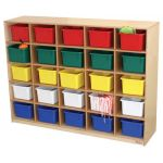 "25-Tray Storage, 36""H x 48""W, With Color Trays"