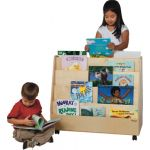 Double-Sided Book Display, Natural
