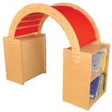 Read & Play Canopy with Red Canopy