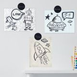 Dot Labels Wallies®, Chalkboard