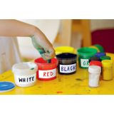 Rectangle Labels Wallies®, Dry Erase