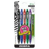 Z-Grip® Retractable Ballpoint Pens, Assorted 5-pack