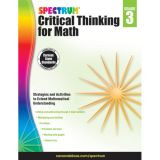 Spectrum® Critical Thinking for Math, Grade 3