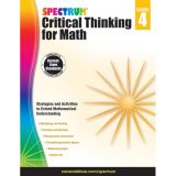 Spectrum® Critical Thinking for Math, Grade 4