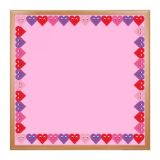 Happy Hearts Die Cut Border