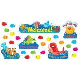 Sea Buddies® Welcome Bulletin Board Set